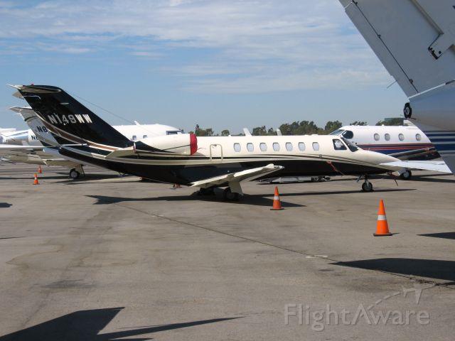 Cessna Citation CJ1 (N149WW) - Parked at Santa Ana
