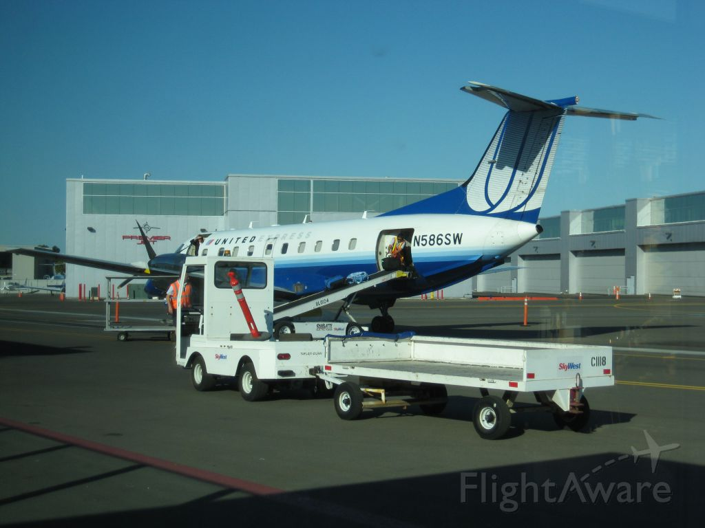 Embraer EMB-120 Brasilia (N586SW) - Carlsbad :)