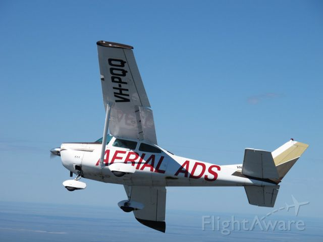 Cessna Skylane (VH-PQQ) - A fly by of Yarrawonga