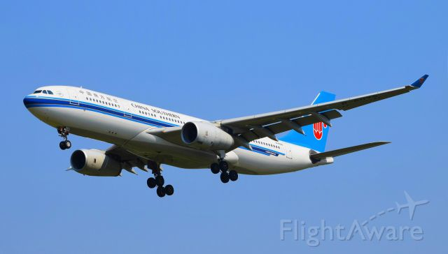 Airbus A330-200 (B-6078) - CZ??? Landed on runway 36R of ZBAA