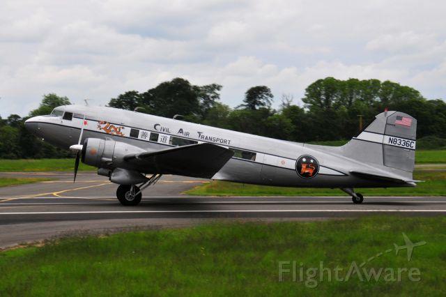 Douglas DC-3 (N8336C) - Weston Airport, Dublin 23rd May 2019