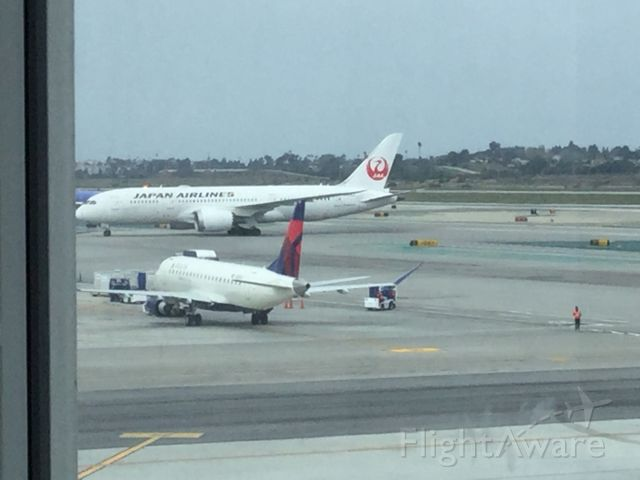 Boeing 787-9 Dreamliner — - Taxing to terminal B