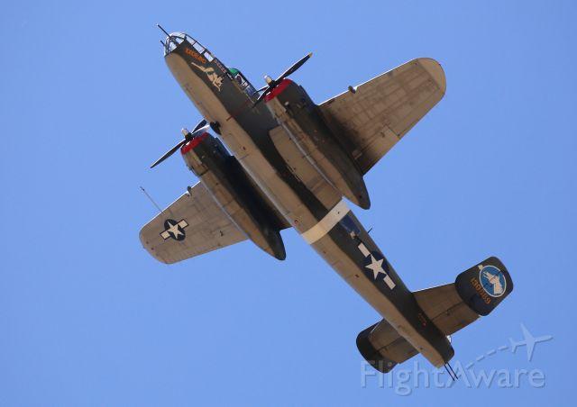 "North American TB-25 Mitchell (N3476G) - Collings Foundation ""Wings of Freedom Tour,"" 9 Apr 16, at Marana Regional Airport, AZ.  B-25J-15-KC, Tondelayo, NL3476G"