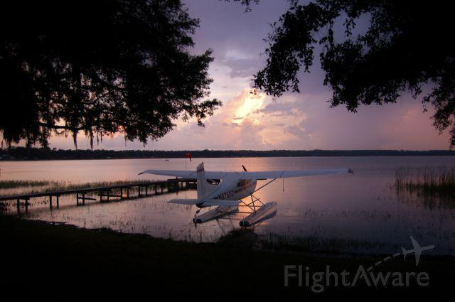 Cessna Skywagon (N8750Z) - LAKE KERR FLORIDA