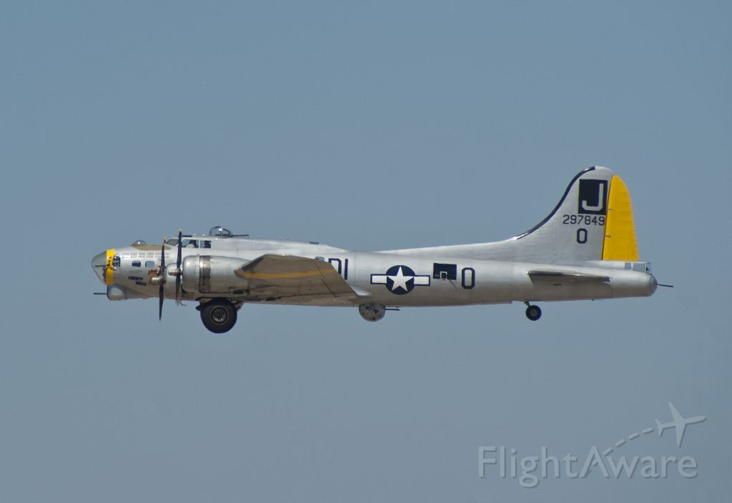 Boeing B-17 Flying Fortress (N390TH) - A shot I took of the Liberty Belle B-17G Flying Fortress prior to my flight with her in September of 2010.