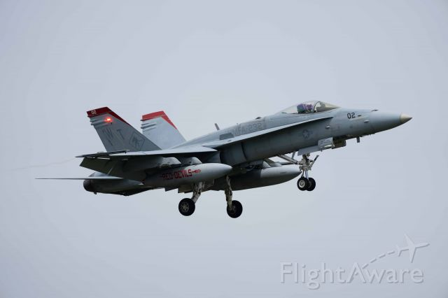 McDonnell Douglas FA-18 Hornet (16-5208) - SONY α1(ILCE1)  with FE 100-400mm F4.5-5.6 GM OSS br /(ISO200 f/8 S1/1250 Focal Length 400mm :no crop)