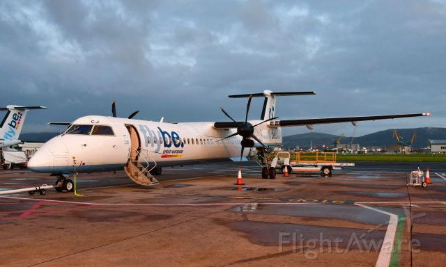 de Havilland Dash 8-400 (G-JECJ) - Flybe De Havilland Canada DHC-8-402Q Dash 8 G-JECJ in Belfast City Airport