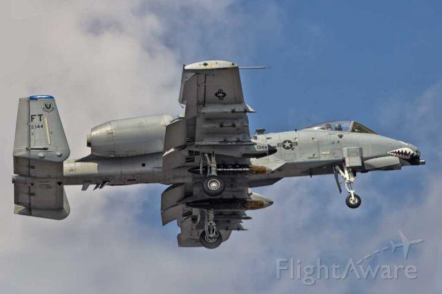 — — - A-10C landing in NAS Kingsville.