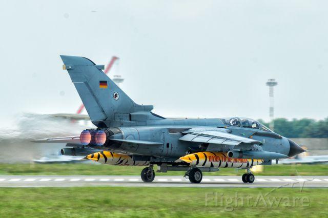 PANAVIA Tornado — - NATO TIGER MEET 2018 , 18.05.2018 , Poznań Krzesiny Airbase , Poland. German Panavia Tornado.