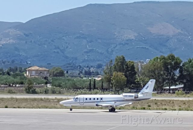 OE-GBE — - Just landed at Zakynthos airport to pick up an injured person.