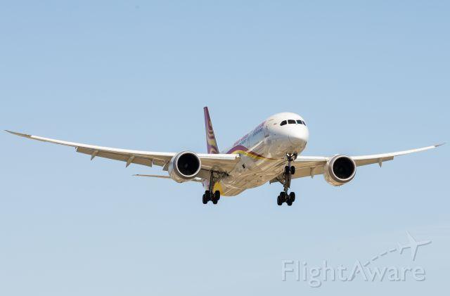 Boeing 787-8 — - Dreamliner approaching runway 23R at Pearson Intl.
