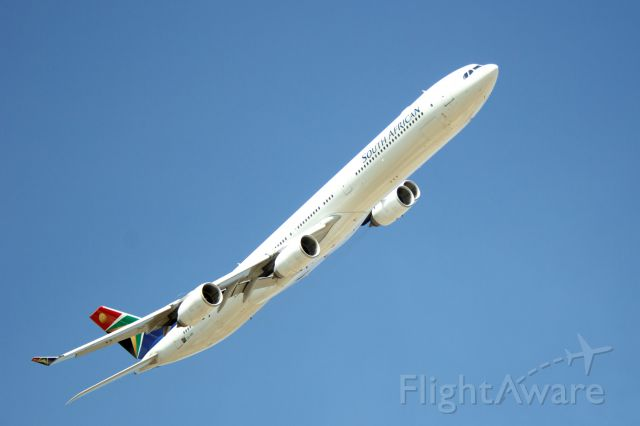 Airbus A340-600 (ZS-SNI) - SA Presidential Inauguration, Pretoria, ZA, 5/24/14