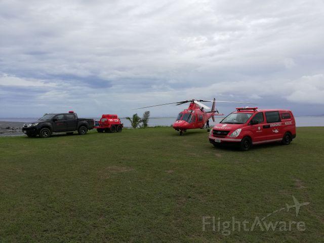 SABCA A-109 (DQ-EMS) - Air Ambulance Fiji