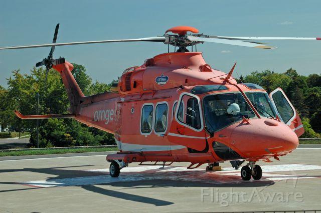 BELL-AGUSTA AB-139 (C-GYNO) - 2010 Agusta/Westland AW139 (41250) seen at  Peterborough Regional Health Center Helipad (CNU3) on September 12, 2019.