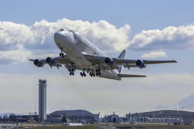 Boeing 747-200 (N718BA)