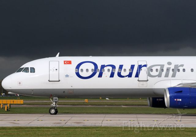 Airbus A321 (TC-OAN) - So you were wondering: What storm?