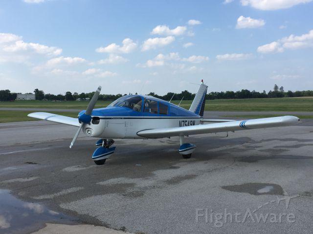Piper Cherokee (N7549W)