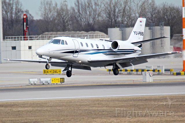 Cessna Citation Excel/XLS (YU-PBB)