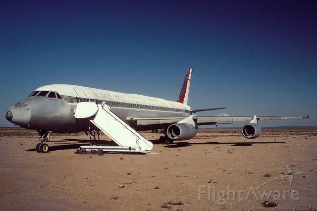 N990AB — - Aerolineas Peruanas SA Convair Cv-990, N990AB at Mojave on September 10, 2001.