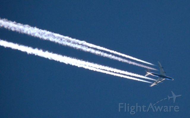 Boeing 747-200 (BAW49) - British Airways London to Seattle over Sheffield
