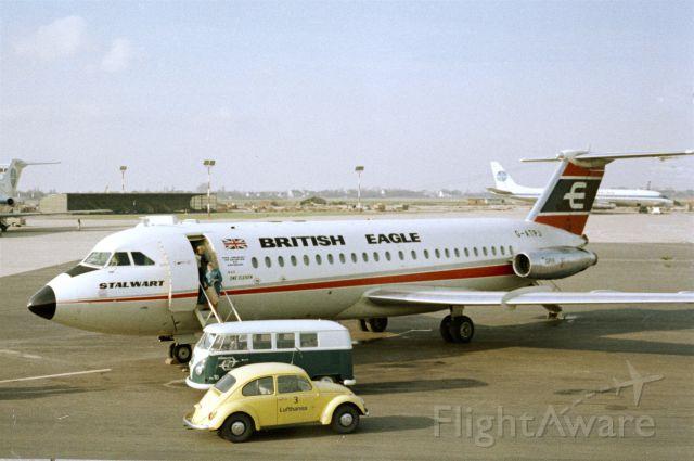 British Aerospace BAC-111 One-Eleven (G-ATPJ) - 1968 at Düsseldorf (EDDL)