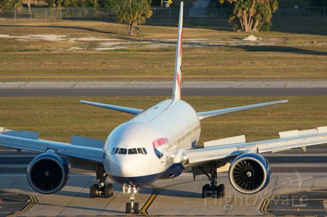Boeing 777-200 (G-VIIV)