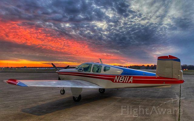 Beechcraft 35 Bonanza (N811A) - Texas spring