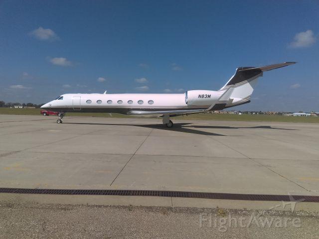 Gulfstream Aerospace Gulfstream V (N83M) - one of 3M jet