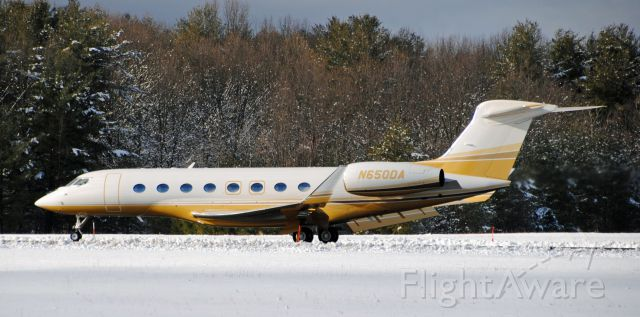 Gulfstream Aerospace Gulfstream G650 (N650DA)