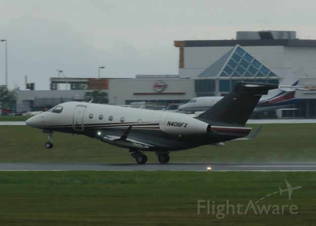 Embraer Legacy 450 (N408FX) - Leaving Ottawa on 1-July-17, and heading for Kingston.