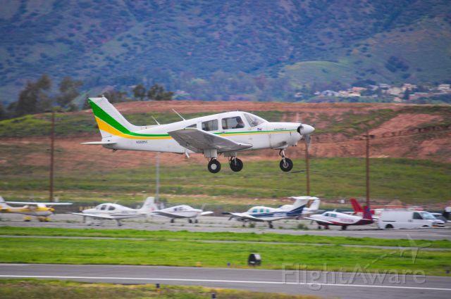 Piper Cherokee (N9685C) - Departing 26L