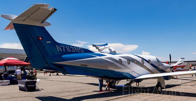 Pilatus PC-12 (N783NG) - US Aircraft Expo @ KAPA 7/13/18