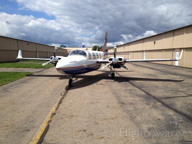 Piper Aerostar (N62WF) - After installation of winglets.