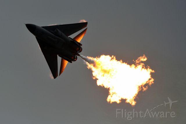 Grumman EF-111 Raven (A8144) - RAAF F-111 Dump and Burn at the 2007 Avalon Airshow