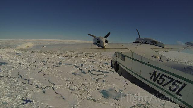 Grumman G-44 Widgeon (N575L) - Grumman Widgeon over the Arctic Ocean, Alaska