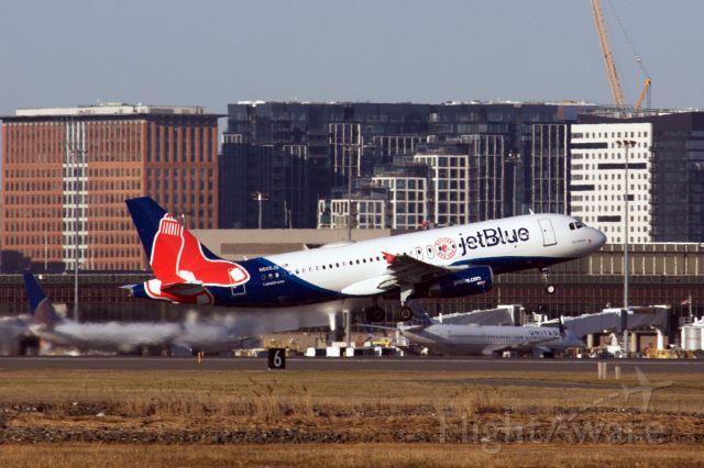 Airbus A320 (N605JB)