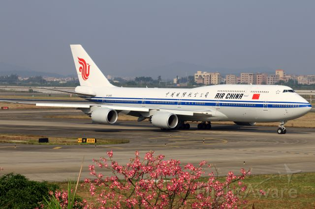 BOEING 747-8 (B-2485)