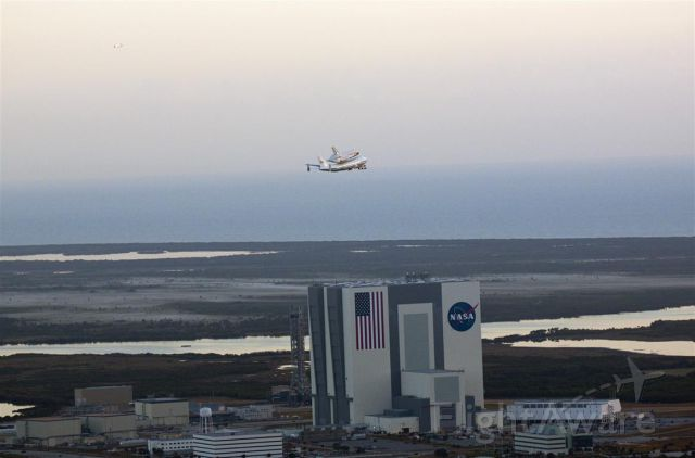 Boeing Shuttle Carrier (NASA905) - Goodbye Discovery!