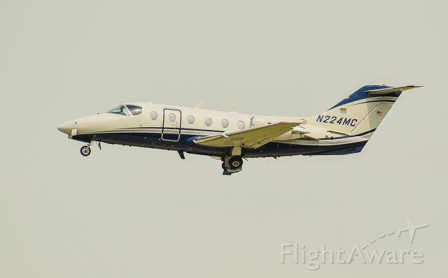 Beechcraft Beechjet (N224MC) - Rwy 23 departure @KUGN.
