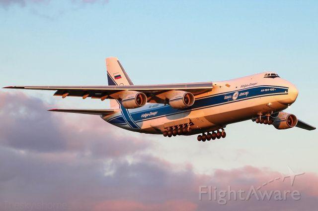 Antonov An-124 Ruslan (RA-82081) - RA-82081 arriving as VDA1994 into East Midlands. 11/05/2019