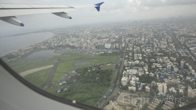 Airbus A320 (VT-IDW) - Aerial view of Mumbai city