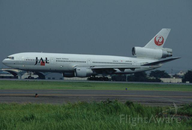 McDonnell Douglas DC-10 (JA8546) - Departure at Nagoya Intl Airport Rwy16 on 1996/07/27