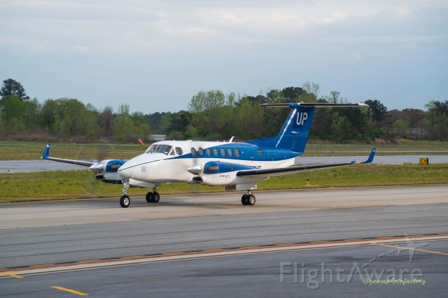 N864UP — - This Beech Super king is stationed at PDK.