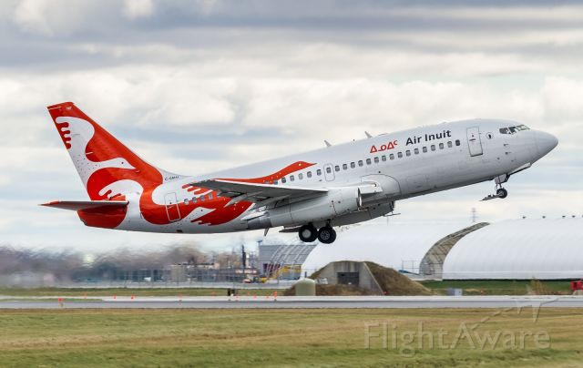 Boeing 737-200 (C-GMAI) - 737-Jurassic climbs off 24L at Montreal