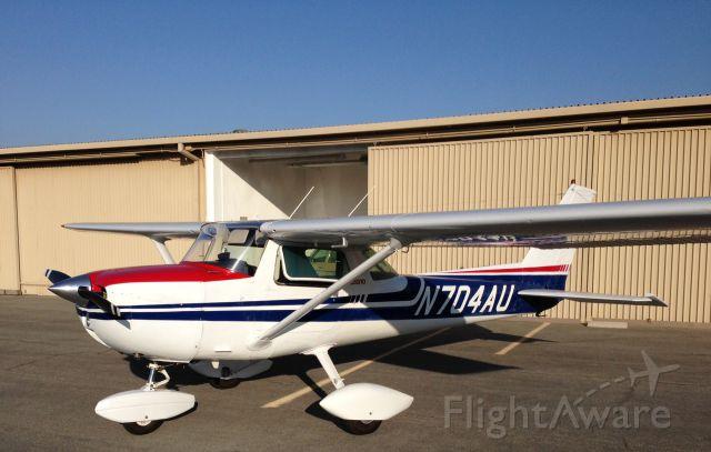 Cessna Commuter (N704AU) - AT KTOA HANGAR