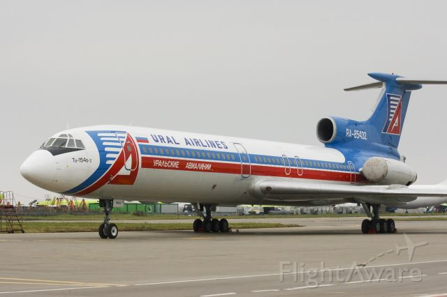 RA-85432 — - In the Ural Airlines fleet it includes RA-85432 a Tu-154B2  and the Tu-154M, with the A320 family An-24, and the Il-86