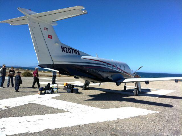 Pilatus PC-12 (N207NX) - Pilatus PC12/NG Baja Mexico