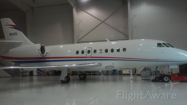 Dassault Falcon 2000 (N1HS) - Brand new aircraft for some wonderful people