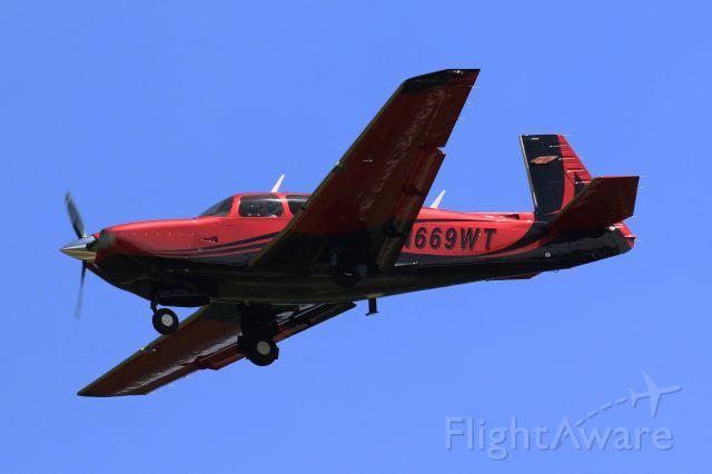 Mooney M-20 Turbo (N669WT)