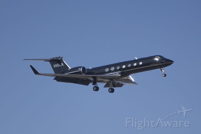 Gulfstream Aerospace Gulfstream V (N96UA) - The Under Armor Company jet.